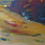 2007 Geröll, Acryl auf Leinwand  40x50cm