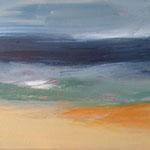 2017  Farben am Meer Acryl auf Leinwand 40x50cm