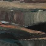 2019 Umbrüche,  Acryl auf Leinwand   70x50 cm