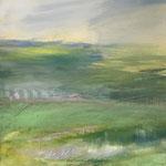 2019 Melancholie,  Acryl auf Leinwand   50x40 cm