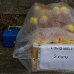 Honig zu verkaufen am Wegesrand