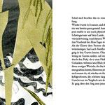 Illustration/Scherenscnittcollage zu >Anton Tschechow, Der schwarze Mönch<