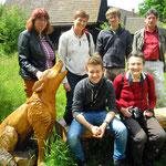 Infos über die Lausitzer Wölfe Fotos(3):Weigt