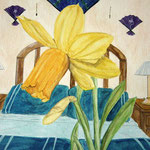 Jonquil For a Blue Room