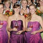 Ehemalige und neue Weinmajestäten 2010