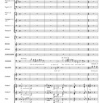 Seite 1 des Finales - Partitur