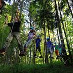 Waldkletterpark    © Tourismusverband Faistenau