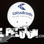 Esfera con luz led y helio