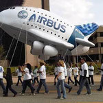 Avión inflable