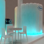 Estand inflable para interior, stand inflable para interior,