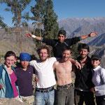 L'équipe du trek