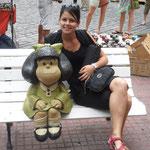 Le célèbre personnage argentin Mafalda
