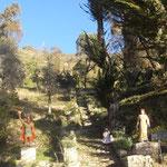 Fuente del inca - Sud de l'île