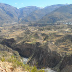 Canyon vu d'en haut