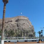 El Morro, site historique d'une bataille de la guerre du pacifique