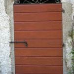 Porta da esterno rustica in abete smaltato