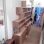 libreria in rovere