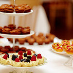 Sweet Table mit Petits Fours
