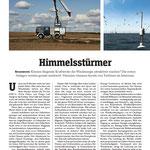 """DER SPIEGEL Bericht Marc Hauser """"Botschafter Höhenwind-Energie"""" S.1"""