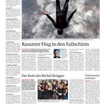 Berner Zeitung: Weltrekord Marc Hauser, Redner   Referent   Keynote Speaker Mut + Motivation