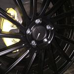 Nabendeckel Teilfolierung Motec Felgen Mercedes VW