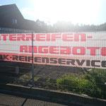 Bannerwerbung DK Reifenservice DK-Race