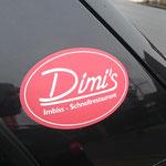 Dimis Imbiss Schnellrestaurant Griechisch essen Gifhorn Digitaldruckaufkleber