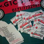 Golf 1 Cabrio Ersatzteile Magnetfolie & Visitenkarten