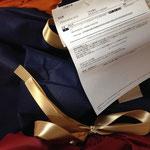 江田雅子サンタからトミカのおもちゃを仮設住宅の男の子へ贈られました!サンタさん(人''▽`)ありがとう☆