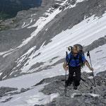 Zustieg Guggihütte
