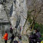 Klettergarten Ponte Brolla Ost