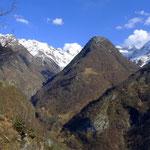 Aussicht vom Klettergarten Brontallo