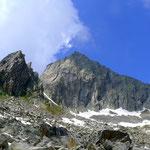 Bergsee Ostwand und Südgrat