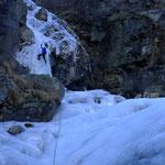 erste SL Acheronte mit steilem Auftakt