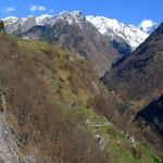 Klettergarten Brontallo unterer Sektor