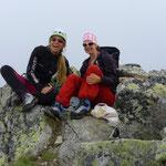 Gipfelrast Bergsee