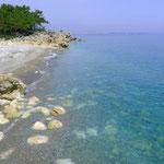 Strand an der Strasse zwischen Konyaalti und Kemer