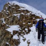 Gipfelaufbau Twäriberg