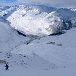 Westabfahrt vom Rossbodenstock nach Andermatt