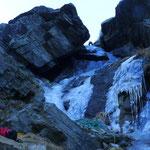 1. SL Sentiero di Trol noch mit magerem Eis