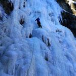 Harry unterwegs im 50m Eisschild