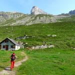 Zustieg Bergsee und Hochschijen