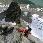 Bergsee Südgrat