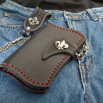 Wallet Iron, was ganz besonderes, komplett Leder Innen und Aussen