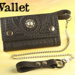 Wallet, handgenäht und aufwendig punziert