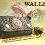 Echte fette Biker-Wallets