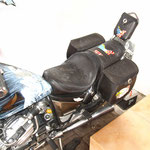 Komplette Ausstattung, Sitz, Satteltaschen, Sissybar, Honda CX 650C