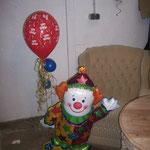Ein anderer Clown als oben, aber auch ganz hübsch: € 20,-