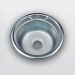WW-490   Размеры: 490х490 мм Толщина стали: 0,6 мм Глубина чаши: 180 мм Диаметр чаши: 360 мм Расположение чаши: по центру Комплектация: мойка + сифон + уплотнитель + крепления
