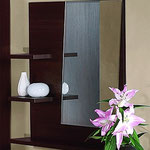 НАОМИ 4-1207 Зеркало Высота, мм: 800; Глубина, мм: 166; Ширина, мм: 800